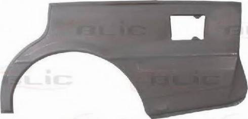 BLIC 6504-01-1151511P - Крило autocars.com.ua
