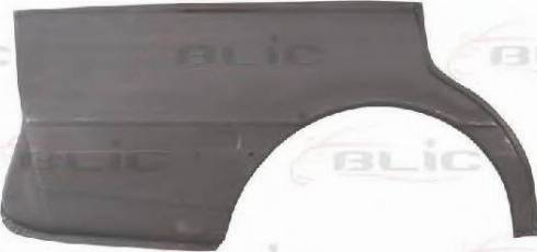 BLIC 6504-01-1151512P - Крило autocars.com.ua