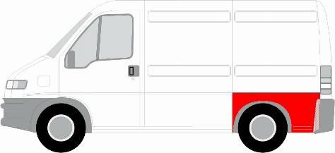 BLIC 6504-01-2092531K - Боковина autocars.com.ua