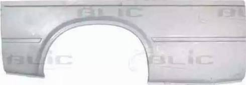 BLIC 6504-01-2515535P - Крило autocars.com.ua
