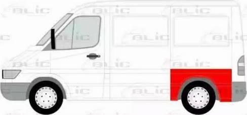 BLIC 6504-01-3546531P - Крило autocars.com.ua