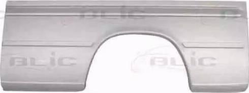 BLIC 6504-01-3546585P - Крило autocars.com.ua