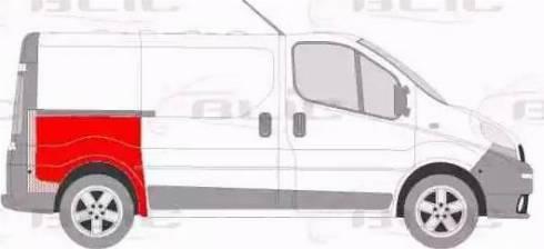 BLIC 6504-01-6061580P - Крило autocars.com.ua