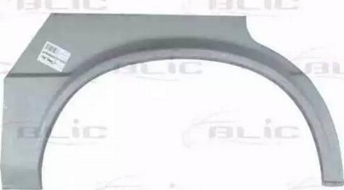 BLIC 6504-03-0009582P - Внутрішня частина крила autocars.com.ua