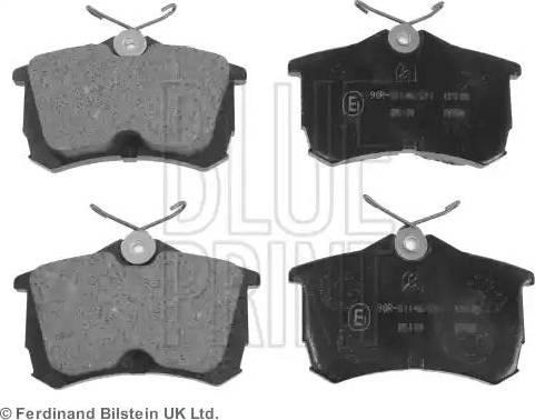 Blue Print ADH24257 - Тормозные колодки, дисковые car-mod.com