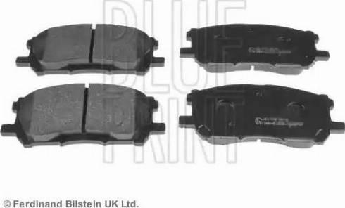 Blue Print ADT342153 - Тормозные колодки, дисковые car-mod.com