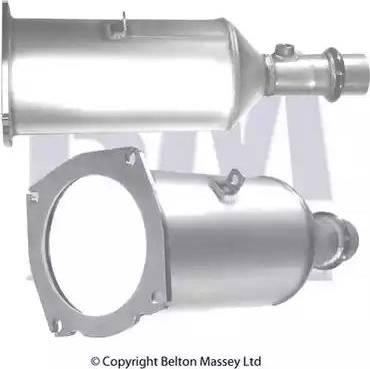 BM Catalysts BM11009 - Сажевый / частичный фильтр, система выхлопа ОГ car-mod.com