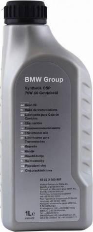 BMW 83222365987 - Масло ступенчатой коробки передач autodnr.net