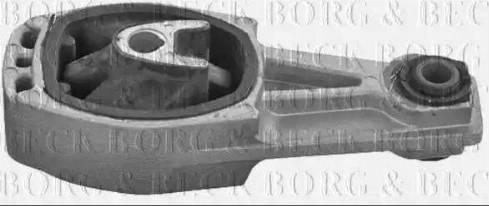Borg & Beck BEM3857 - Подушка, підвіска двигуна autocars.com.ua