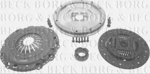 Borg & Beck HKF1000 - Комплект для переоборудования, сцепление avtokuzovplus.com.ua