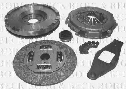 Borg & Beck HKF1001 - Комплект для переоборудования, сцепление avtokuzovplus.com.ua
