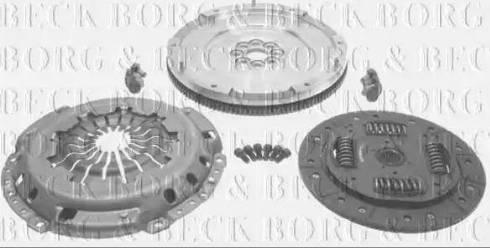 Borg & Beck HKF1011 - Комплект для переоборудования, сцепление avtokuzovplus.com.ua