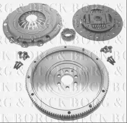 Borg & Beck HKF1014 - Комплект для переоборудования, сцепление car-mod.com