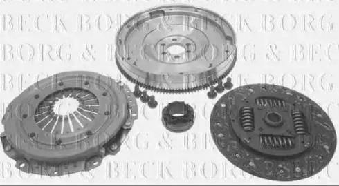 Borg & Beck HKF1022 - Комплект для переоборудования, сцепление avtokuzovplus.com.ua