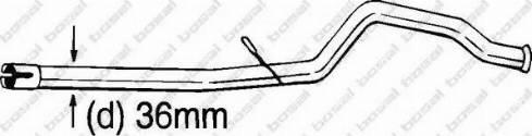 Bosal 889189 - Ремонтная трубка, катализатор car-mod.com