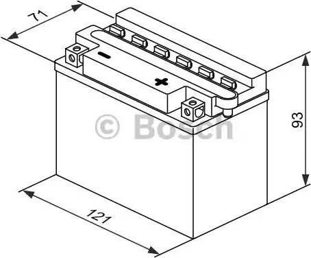 BOSCH 0092m4f170 - Стартерная аккумуляторная батарея autodnr.net