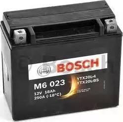 BOSCH 0092m60230 - Стартерная аккумуляторная батарея autodnr.net