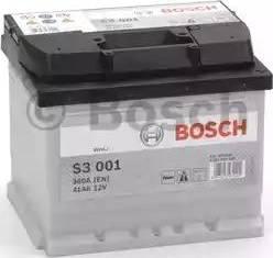 BOSCH 0092S30010 - Стартерная аккумуляторная батарея, АКБ car-mod.com
