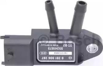 BOSCH 0281006287 - Датчик, давление выхлопных газов autodnr.net