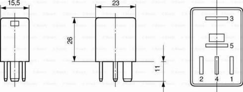 BOSCH 0 332 207 319 - Блок управления, датчик дождя car-mod.com