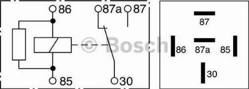 BOSCH 0332209206 - Реле, противоблокировочное устройство autodnr.net