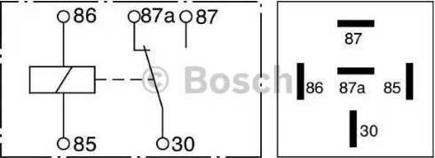 BOSCH 0332209150 - Многофункциональное реле avtokuzovplus.com.ua