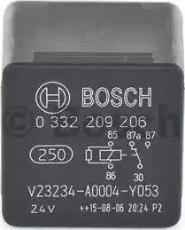 BOSCH 0332209152 - Многофункциональное реле car-mod.com
