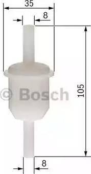 BOSCH 0450904058 - Топливный фильтр autodnr.net