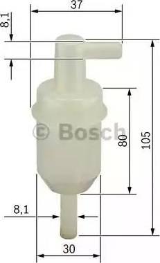BOSCH 0450904077 - Топливный фильтр autodnr.net