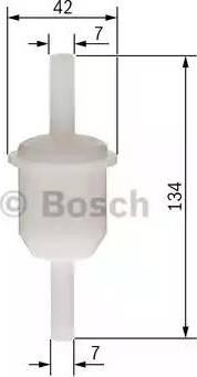 BOSCH 0 450 904 163 - Паливний фільтр autocars.com.ua