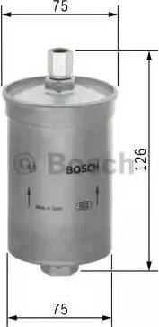 BOSCH 0 450 905 906 - Паливний фільтр autocars.com.ua