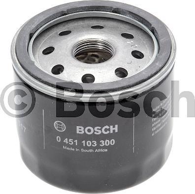 BOSCH 0 451 103 300 - Масляний фільтр autocars.com.ua