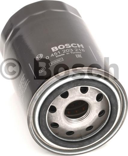 BOSCH 0 451 203 218 - Масляний фільтр autocars.com.ua
