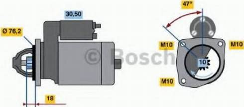 BOSCH 0986018220 - Стартер car-mod.com