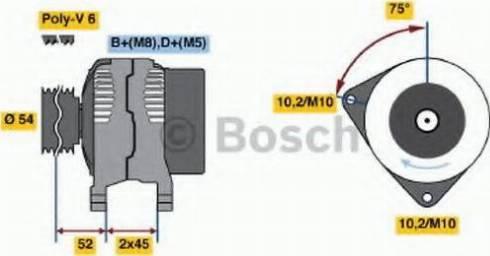BOSCH 0 986 042 071 - Генератор car-mod.com