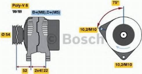 BOSCH 0 986 042 091 - Генератор car-mod.com
