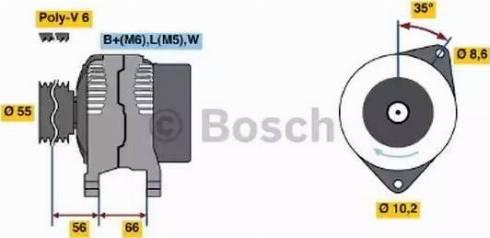 BOSCH 0 986 042 211 - Генератор car-mod.com