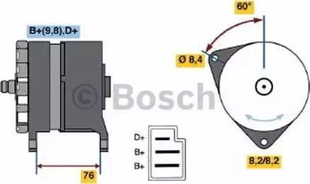 BOSCH 0 986 044 581 - Генератор car-mod.com