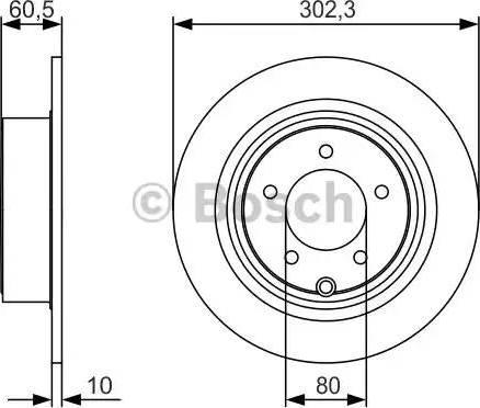 BOSCH 0 986 479 R07 - Тормозной диск autodnr.net