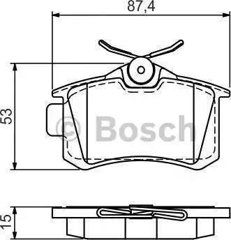 A.B.S. 36623 - Комплект тормозных колодок, дисковый тормоз autodnr.net