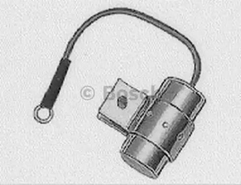 BOSCH 1237330801 - Конденсатор, система зажигания car-mod.com