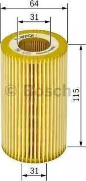 Mann-Filter HU 718/5 x - Масляний фільтр autocars.com.ua