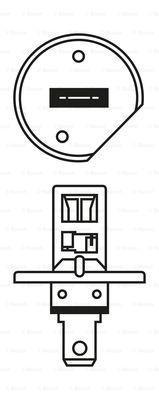 BOSCH 1987301041 - Лампа накаливания, противотуманная фара car-mod.com