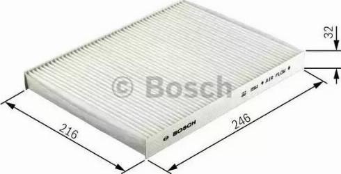 BOSCH 1 987 432 357 - Фильтр салонный autodnr.net