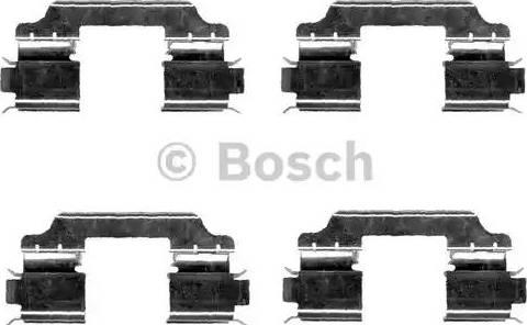 BOSCH 1 987 474 667 - Комплектующие, колодки дискового тормоза autodnr.net