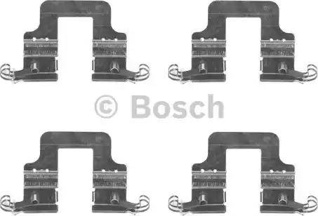 BOSCH 1 987 474 731 - Комплектующие, колодки дискового тормоза avtokuzovplus.com.ua