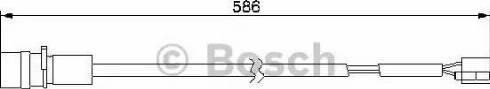 BOSCH 1 987 474 985 - Сигнализатор, износ тормозных колодок autodnr.net