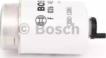 BOSCH F 026 402 119 - Паливний фільтр autocars.com.ua