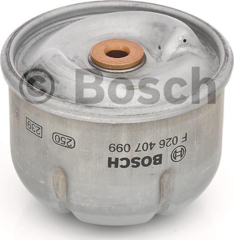 BOSCH F 026 407 099 - Масляний фільтр autocars.com.ua
