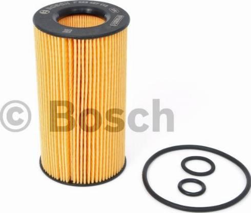 BOSCH F 026 407 112 - Масляний фільтр autocars.com.ua